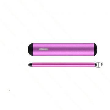 Viewing Window Design Mini Disposable Cbd Vape Pen Ceramic Coil 1.2ohm Vaporizer Vape Pen